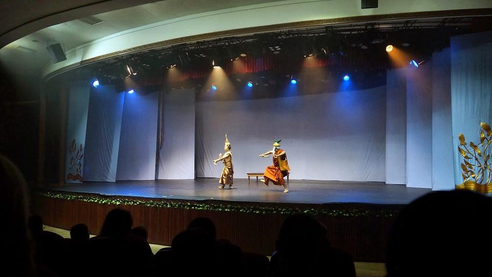 Le public de Phnom Penh a répondu présent pour ces quatre représentations du Ballet Royal à Chaktomuk