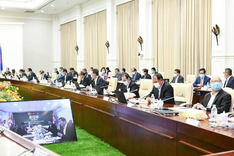 Conseil des ministres. Photographie AKP