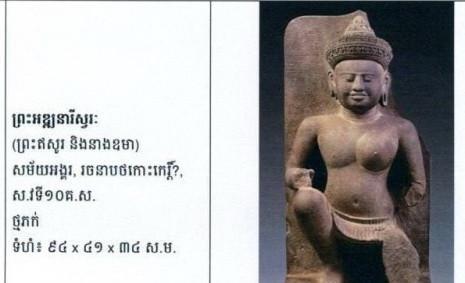 Antiquités : Le ministère de la Culture confirme le retour de 100 objets khmers anciens