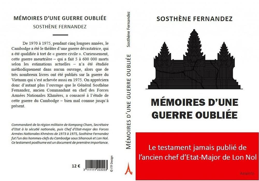 ''Mémoires d'une Guerre Oubliée'' relate une période encore très largement méconnue de l'histoire du Cambodge