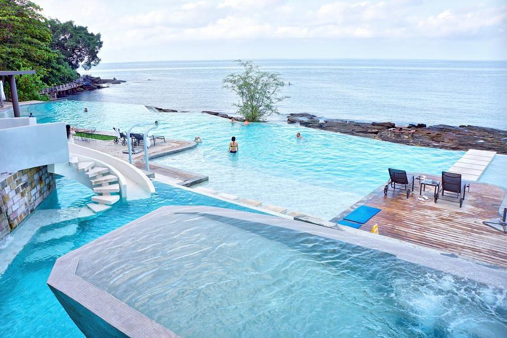 l'Ocean Pool, pour rendre l'expérience unique