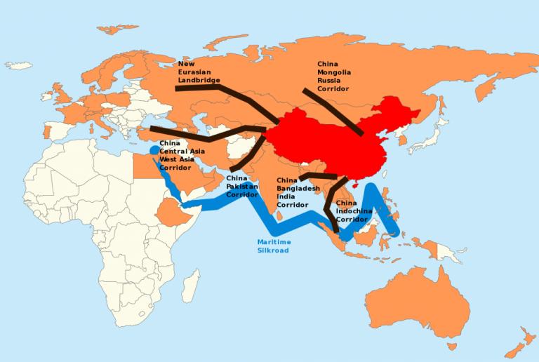Les nouvelles Routes de la Soie
