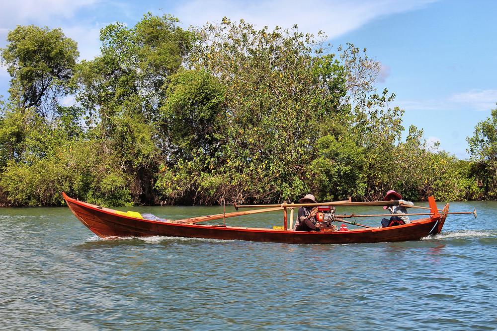 Pêcheurs de Trapaing Sangke