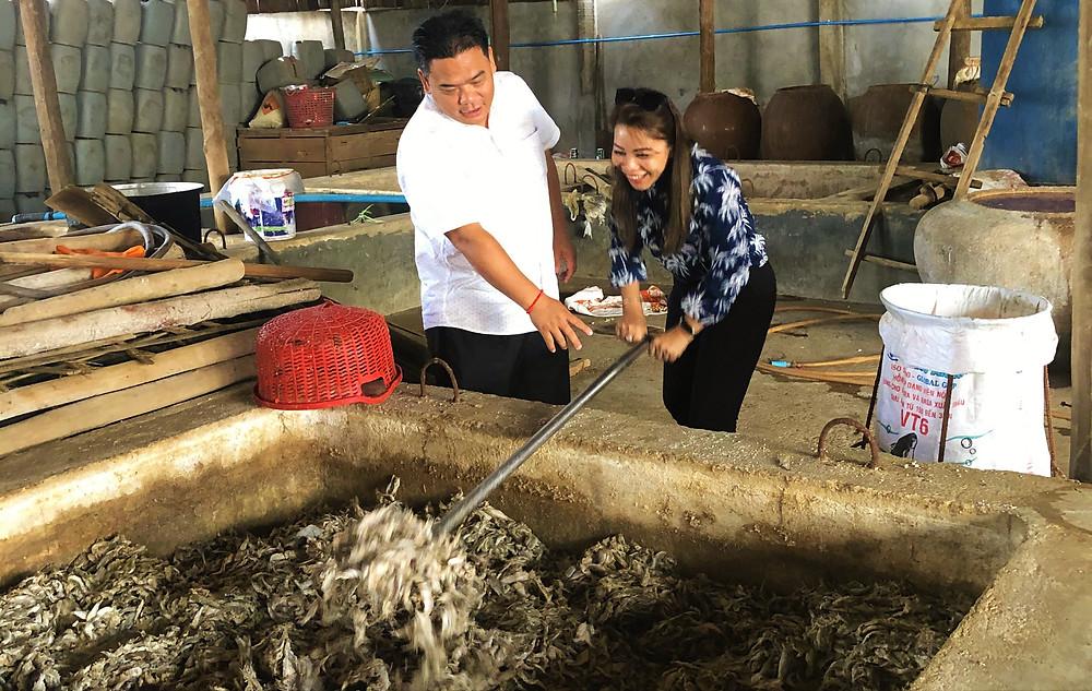 avec le chef Luu Meng