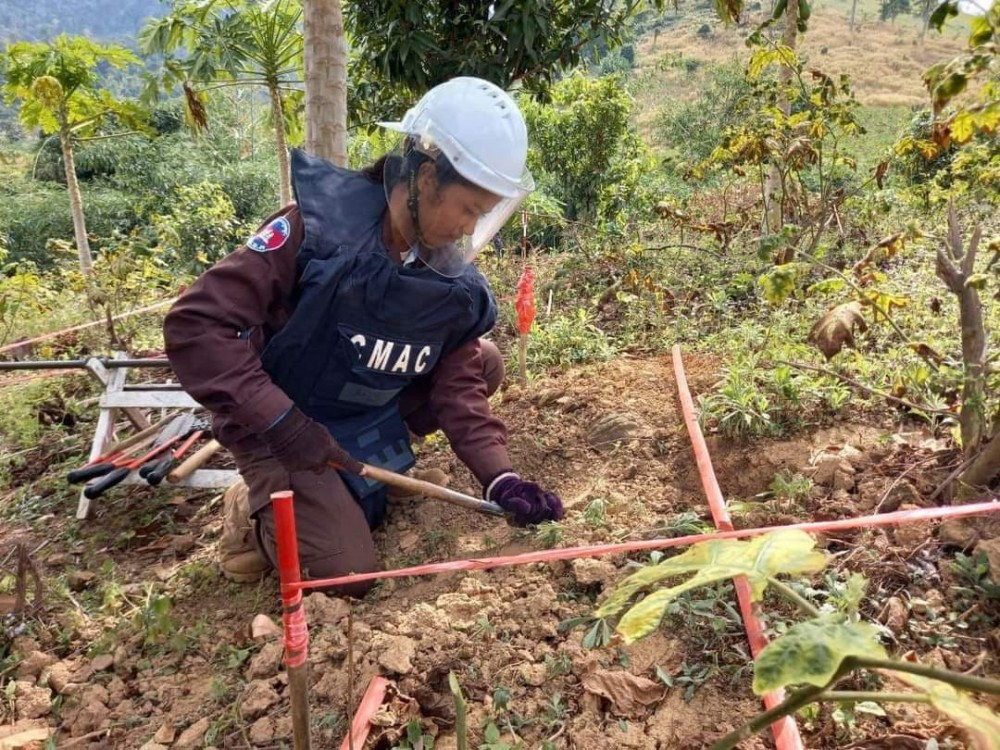 Le Cambodge déterminé à devenir un pays sans mines d'ici 2025