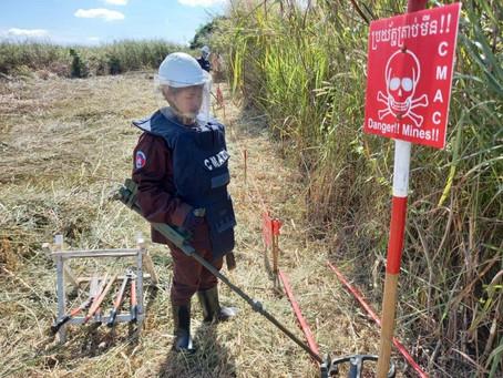 Cambodge & Déminage : Baisse de 16 % du nombre de victimes des mines et explosifs