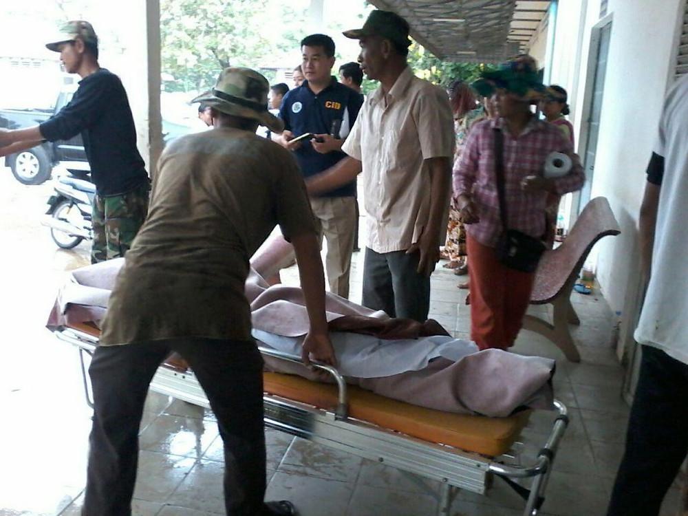 Deux tués dans un exercice militaire à Kampong Speu. Photographie fournie