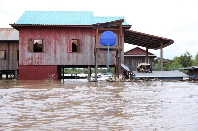 Le Cambodge sous les eaux