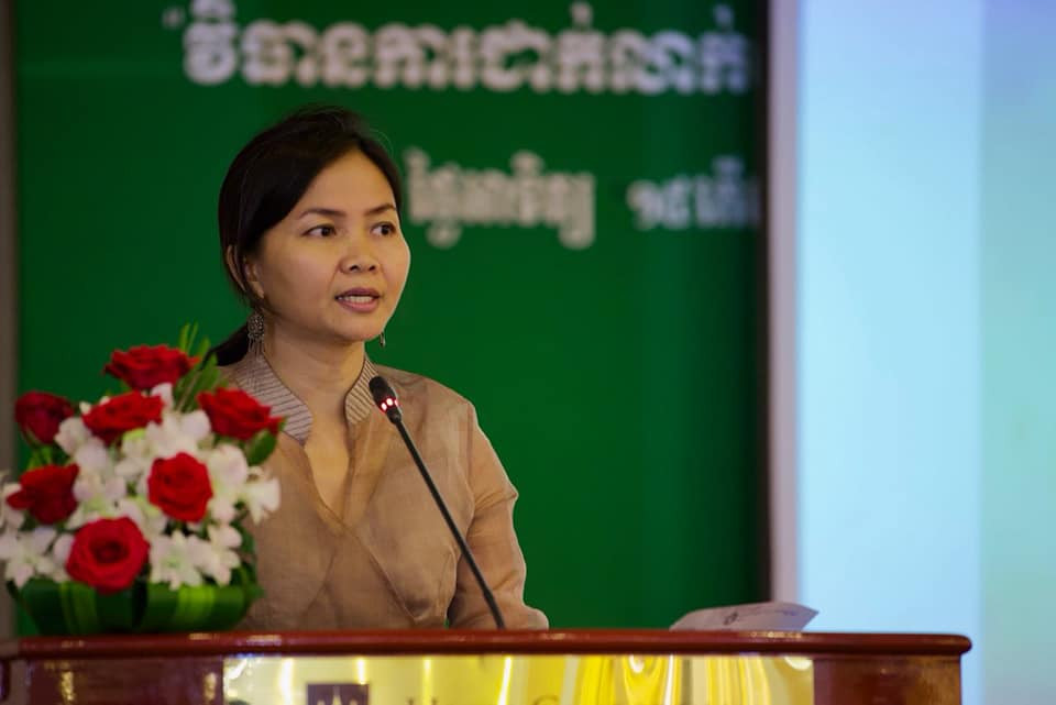 Solinn Lim, directrice pays d'Oxfam au Cambodge