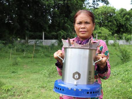 Cambodge & Société : Du besoin de s'éloigner de la cuisson traditionnelle au charbon...