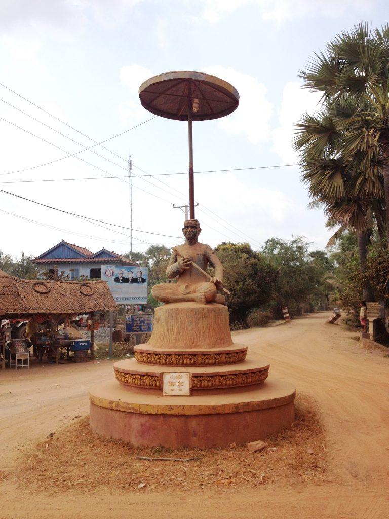 Statue de Krom Ngoy