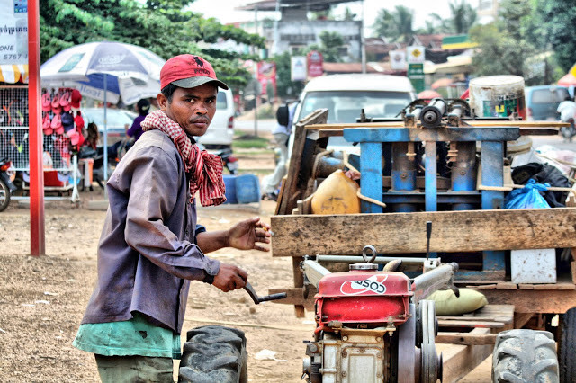 Cambodge rural. Photo C.Gargiulo