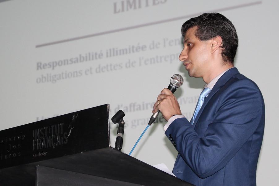 Djamel El Akra, secrétaire général de la CCI France Cambodge et conseiller juridique senior chez HBS LAW