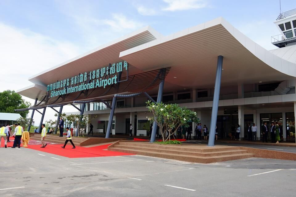 Aéroport international de Sihanoukville par LBL