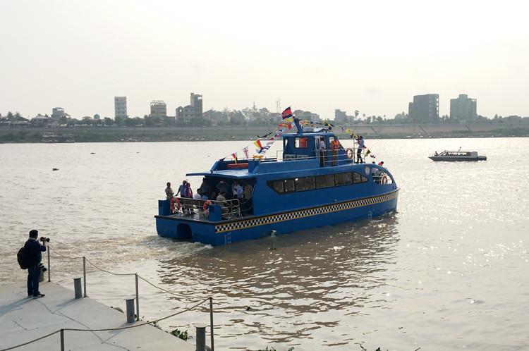 n 2018, le service de bateau-taxi de Phnom Penh-Takhmao a accueilli 30.647 passagers