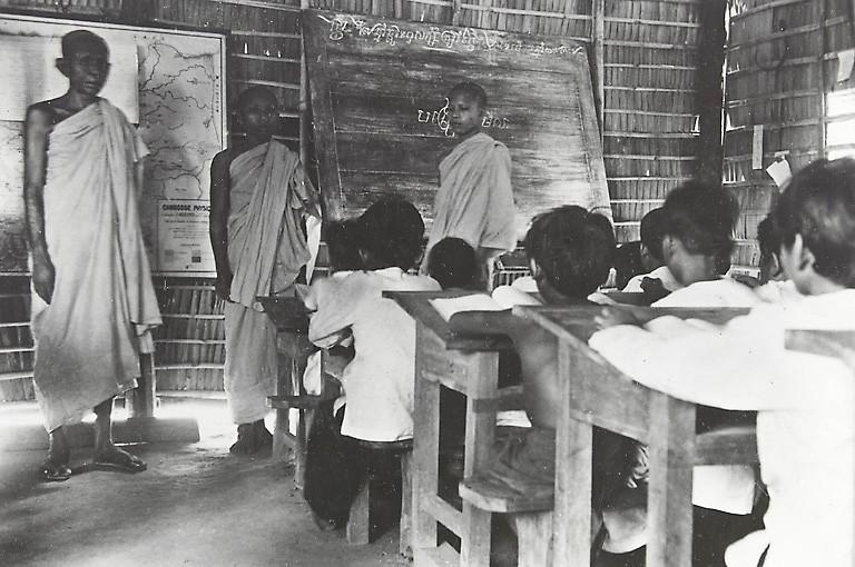 Examen scolaire dans les années 20