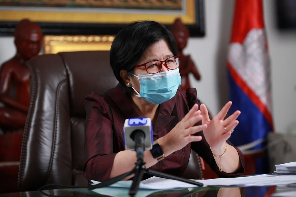 porte-parole du ministère de la Santé, Mme Or Vandine