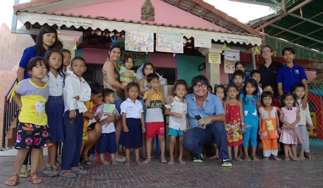 Les enfants de Yim Sokhary. Photo C.Gargiulo avec l'aimable autorisation de CGF Foundation