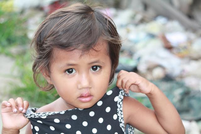 Enfant du bidonville