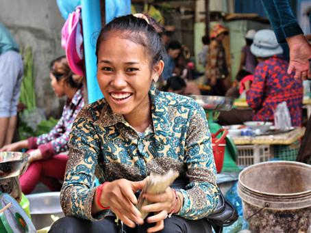 Photographie : Les sourires khmers