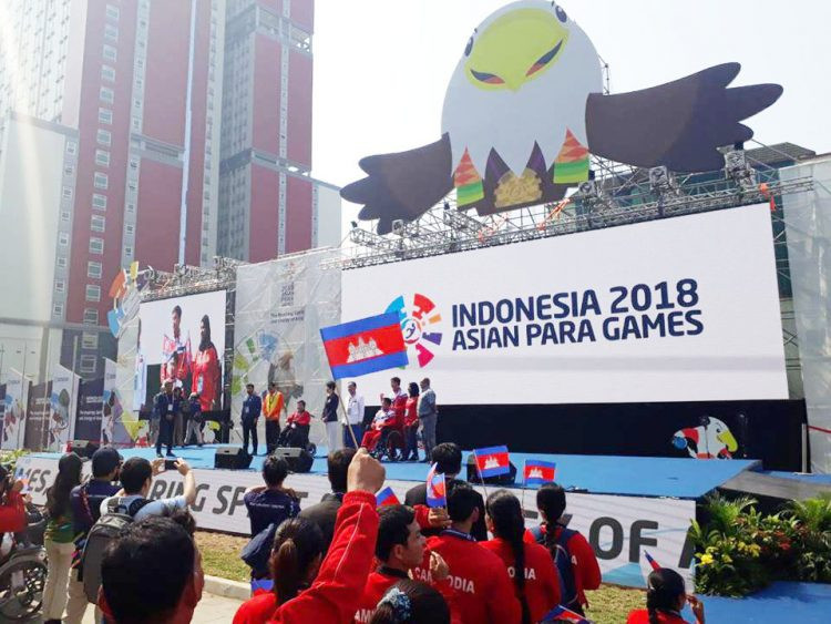 Les Cambodgiens aux Jeux paralympiques asiatiques