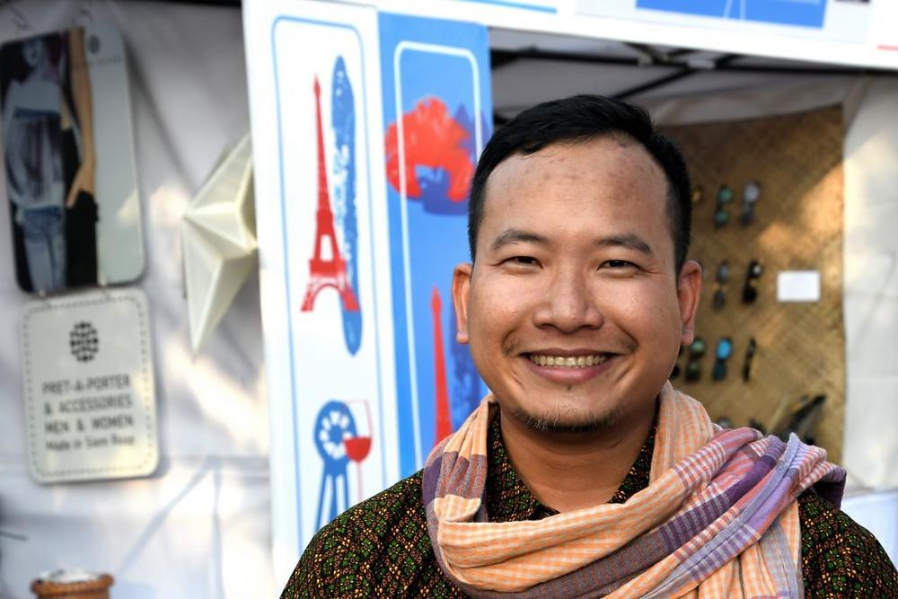 Dara Huot, directeur général de Phare Performing Social Enterprise
