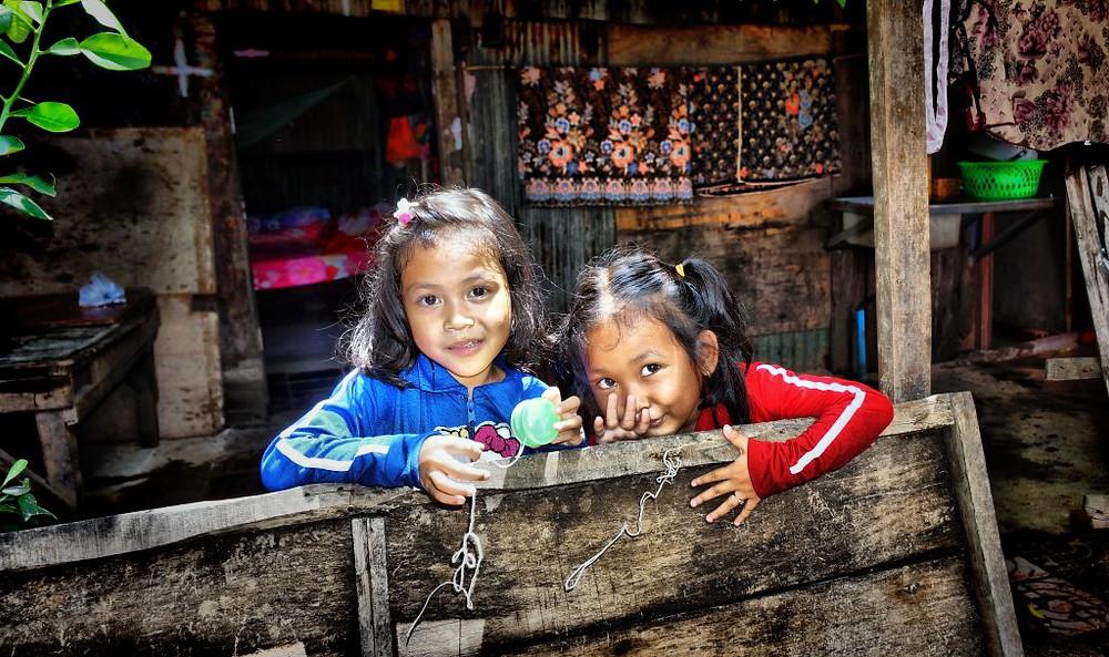 Enfants des bidonvilles