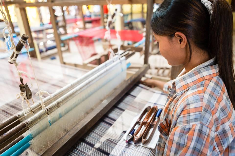 Tisserande de Banteay Chhmar