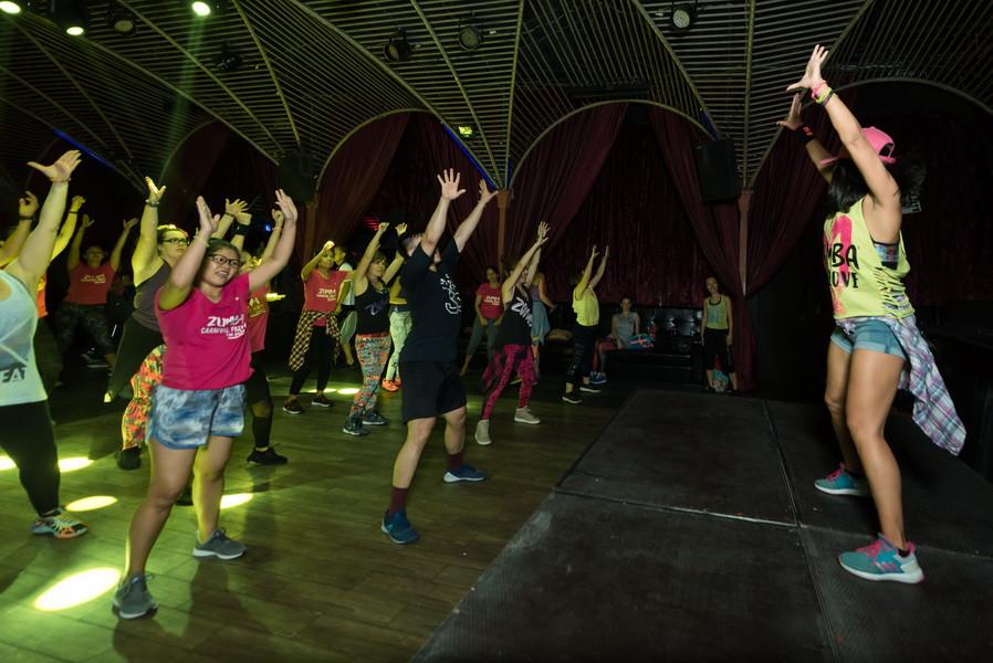 Sports - Événement : La Zumba généreuse au Pontoon