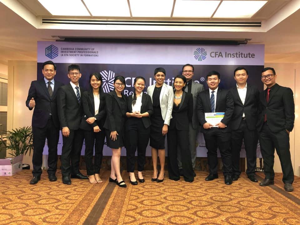 Cérémonie de clôture du CFA Institute Research Challenge au Cambodge. Photographie Jérémie Montessuis - CFA