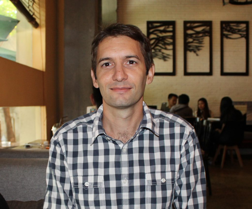 Pierre Larnicol, Chef de projets pour Planète Enfants & développement sur les quartiers précaires