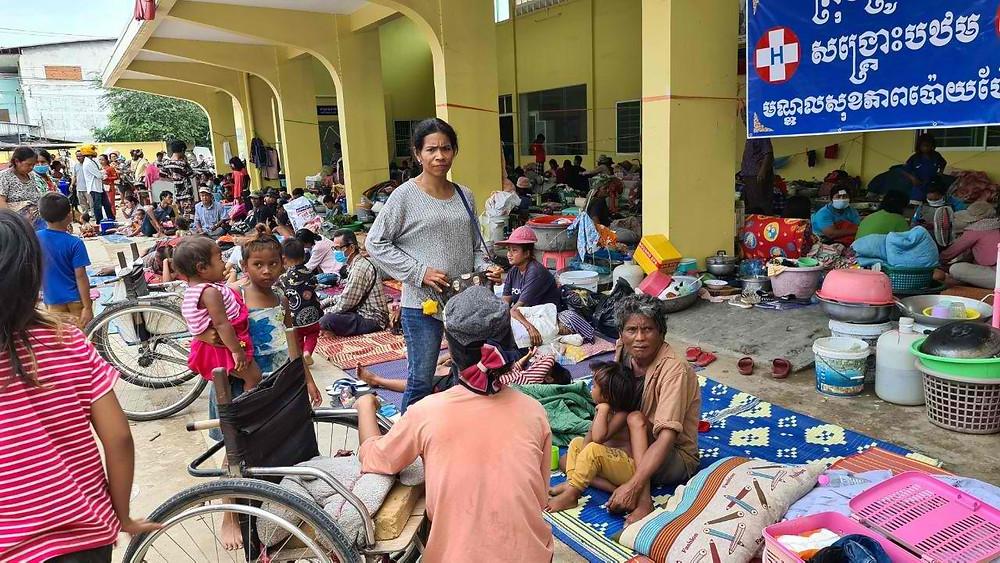 Familles évacuées