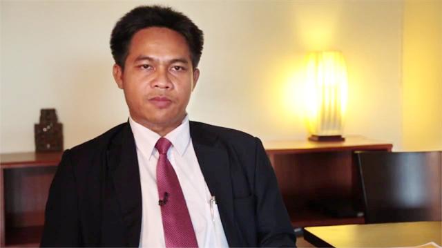 Sam Serey, président du Front de libération nationale khmère