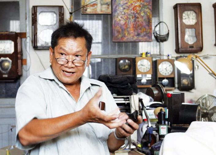 Pin Kim Seng, 63 ans,