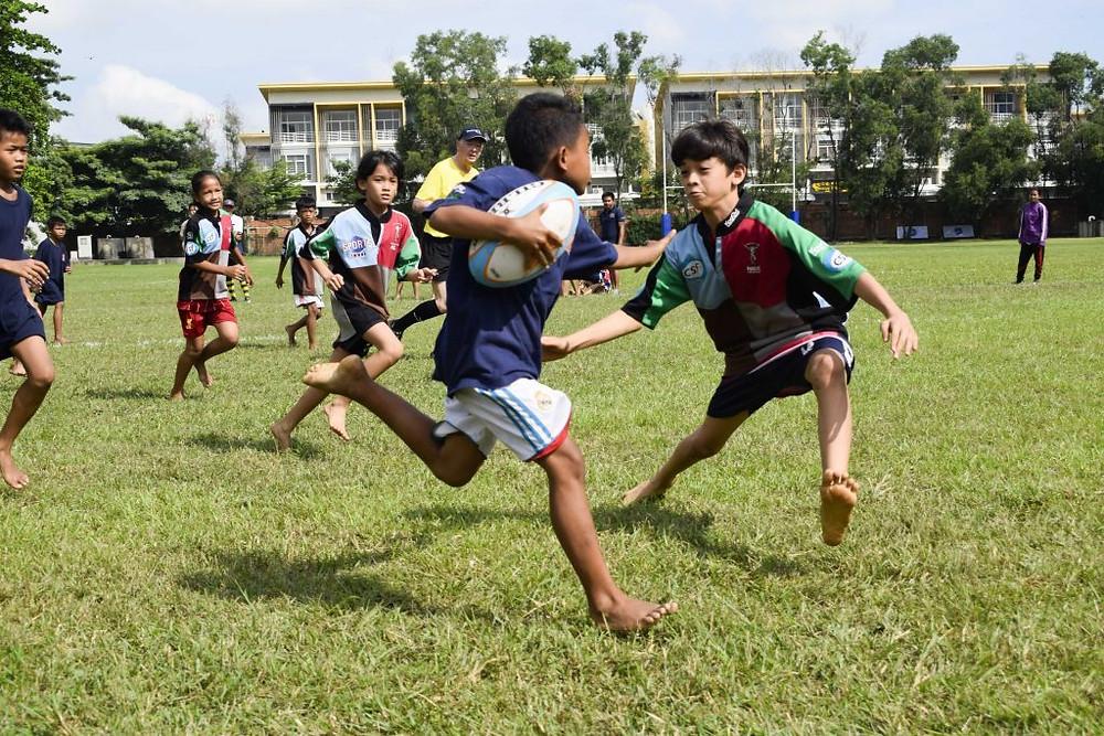 Rugby social à Northbridge avec Kampuchea Balopp