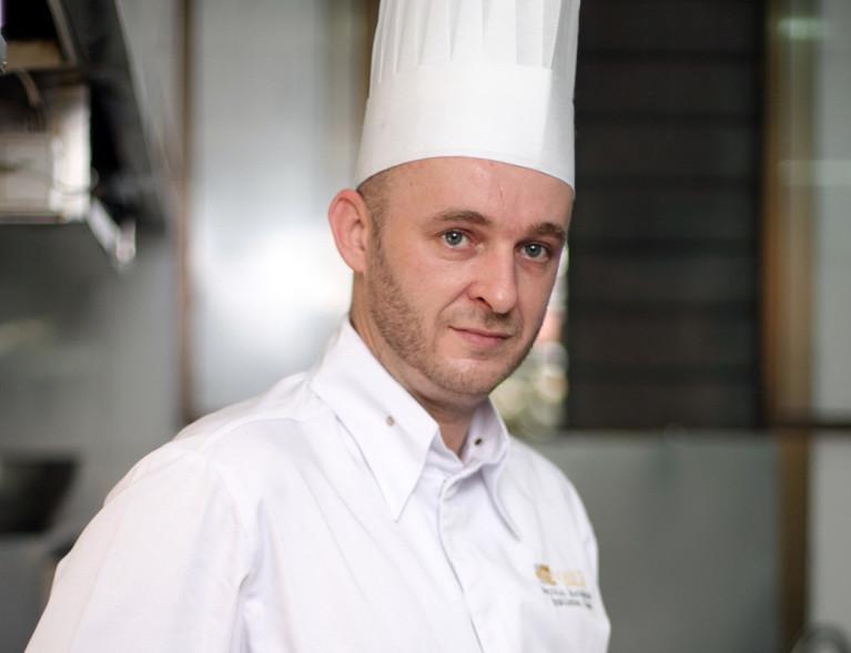 Nicolas Malherbe, le chef du restaurantPalais La Poste