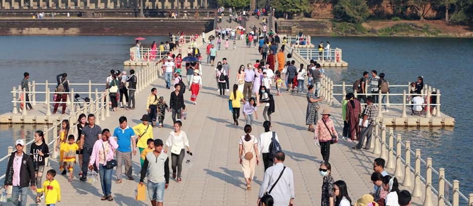 Tourisme & Cambodge : Près de 900000 touristes visitent le pays pendant le Nouvel An lunaire