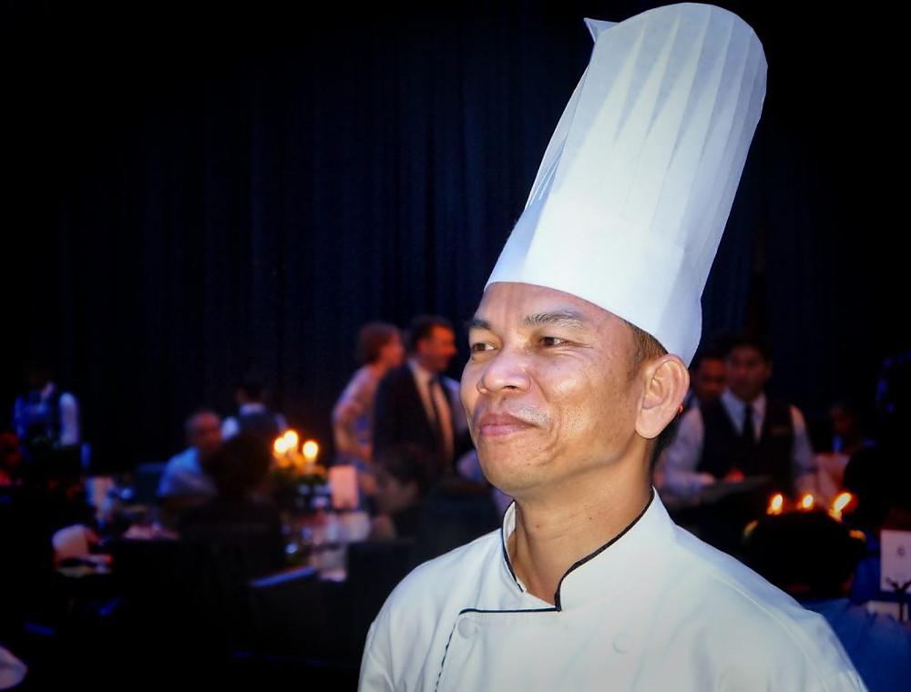Le chef Sopheak – Photographie : Thalias Hospitality - Christophe Gargiulo