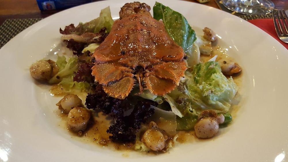 Salade de cigale de mer