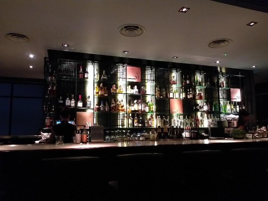 Vue sur le bar. Photographie Pascal Médeville