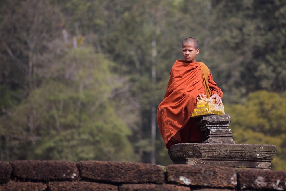Angkor et Couleurs par Alex Bergé