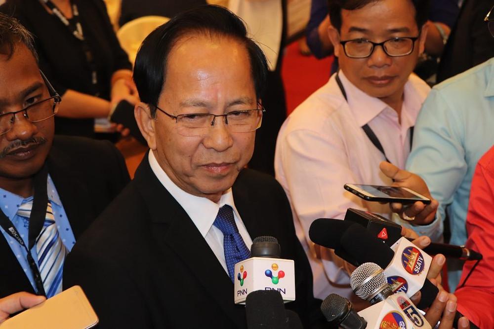 Son Excellence Pak Sokhom, secrétaire d'Etat au ministère du Tourisme