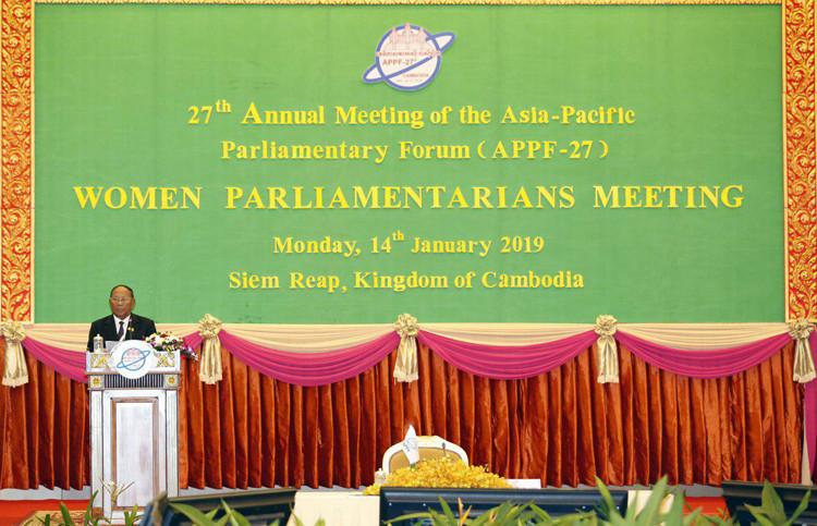 FPAP-27 : Heng Samrin, il faut accroître la participation des femmes