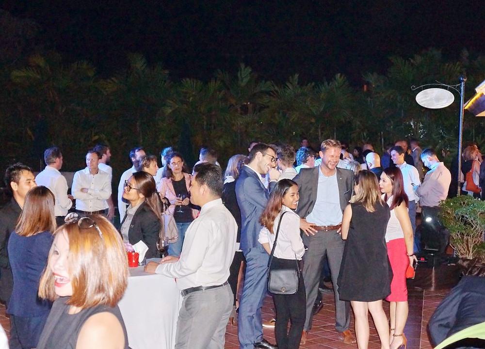 Plus d'une centaine de membres et amis d'Eurocham pour cette soirée au Sofitel