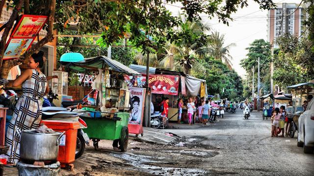 Photographie : Deux Cambodge ou les rues de Chroy Changvar
