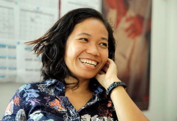 Onn Sokny, directrice nationale d'Epic Arts Cambodia