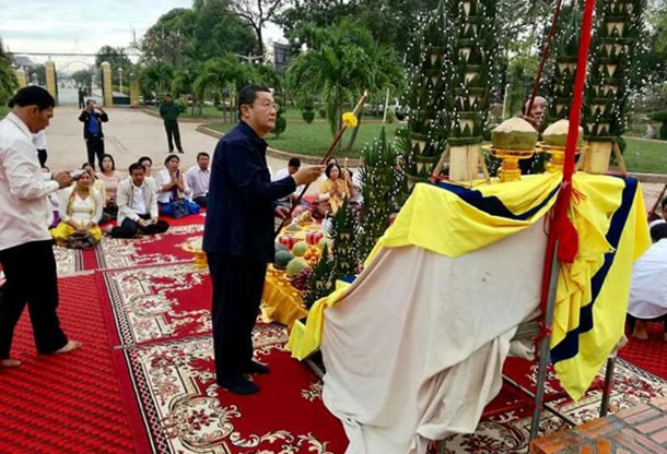 Chan Sophal, gouverneur de Battambang