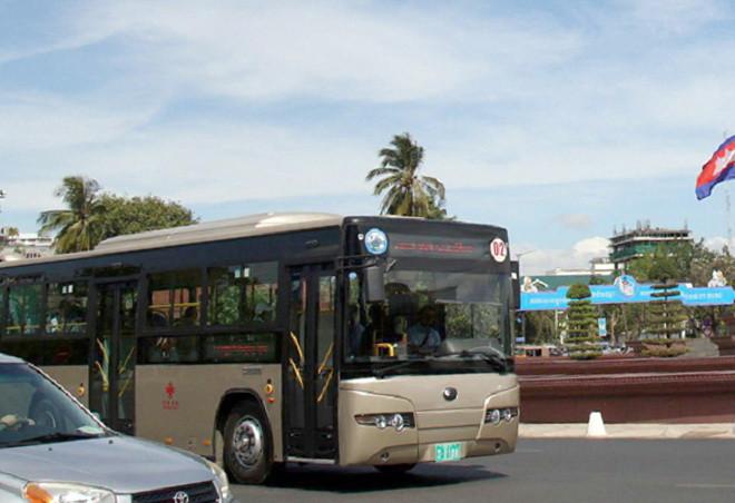 Transports : Cinq lignes de bus supplémentaires dans Phnom Penh