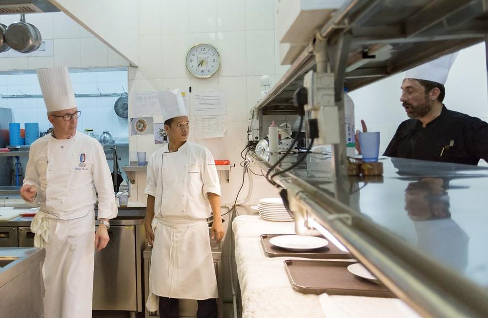 Philippe Girardon en cuisine