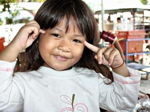 Photo du jour, sourire khmer